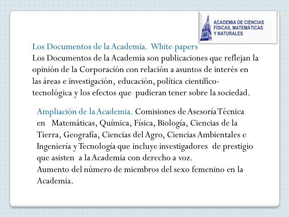 Los Documentos de la Academia.