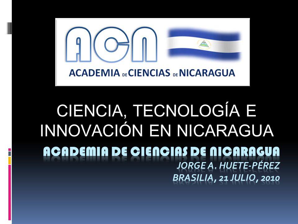 CIENCIA, TECNOLOGÍA E INNOVACIÓN EN NICARAGUA