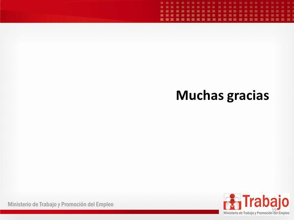 Muchas gracias 19
