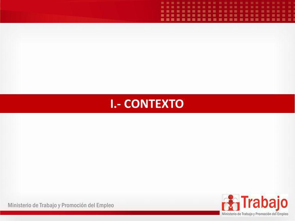 I.- CONTEXTO 3