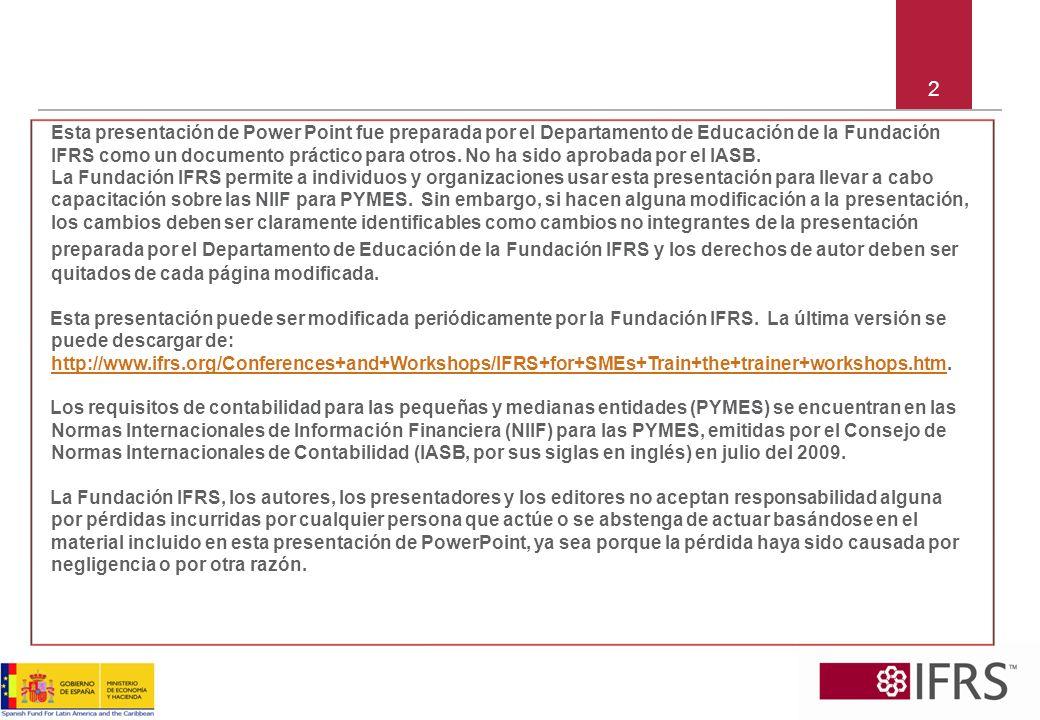 Sección 2 Conceptos y Principios Generales Objetivo Características cualitativas Elementos (pilares fundamentales) Reconocimiento Medición Compensación 13