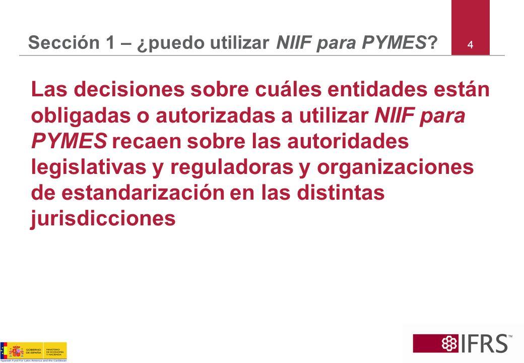25 Section 2 – medición de pasivos Pasivos Financiero ProvisionesContingente Arrenda- mientos Beneficio definido Impuesto diferido Nil Varios FL ~ normas OL ~ nil Mejor Est.