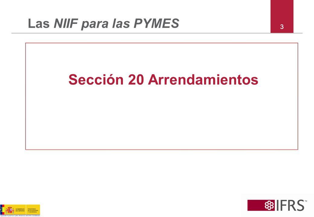 34 Las NIIF para las PYMES Sección 29 Impuesto sobre la Renta