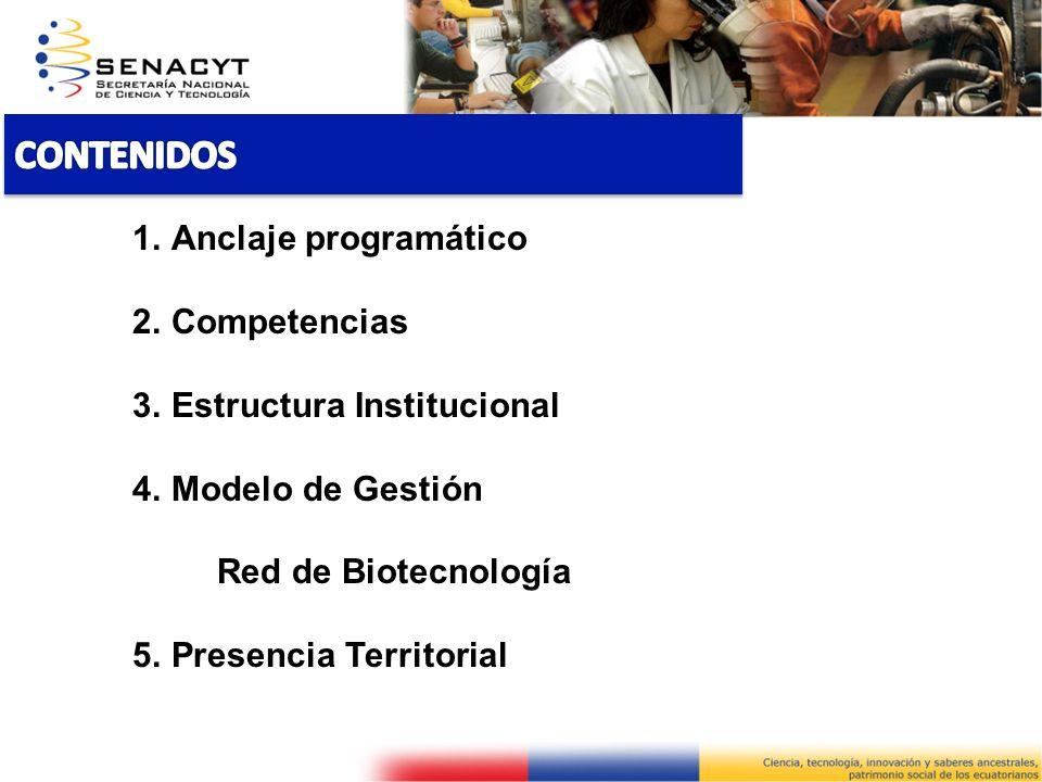 INSTITUTO DE BIOLOGÍA GENÓMICA PARA LA CONSERVACIÓN Y APROVECHAMIENTO DE LA BIODIVERSIDAD 1.Parte del Plan Nacional del Buen Vivir.