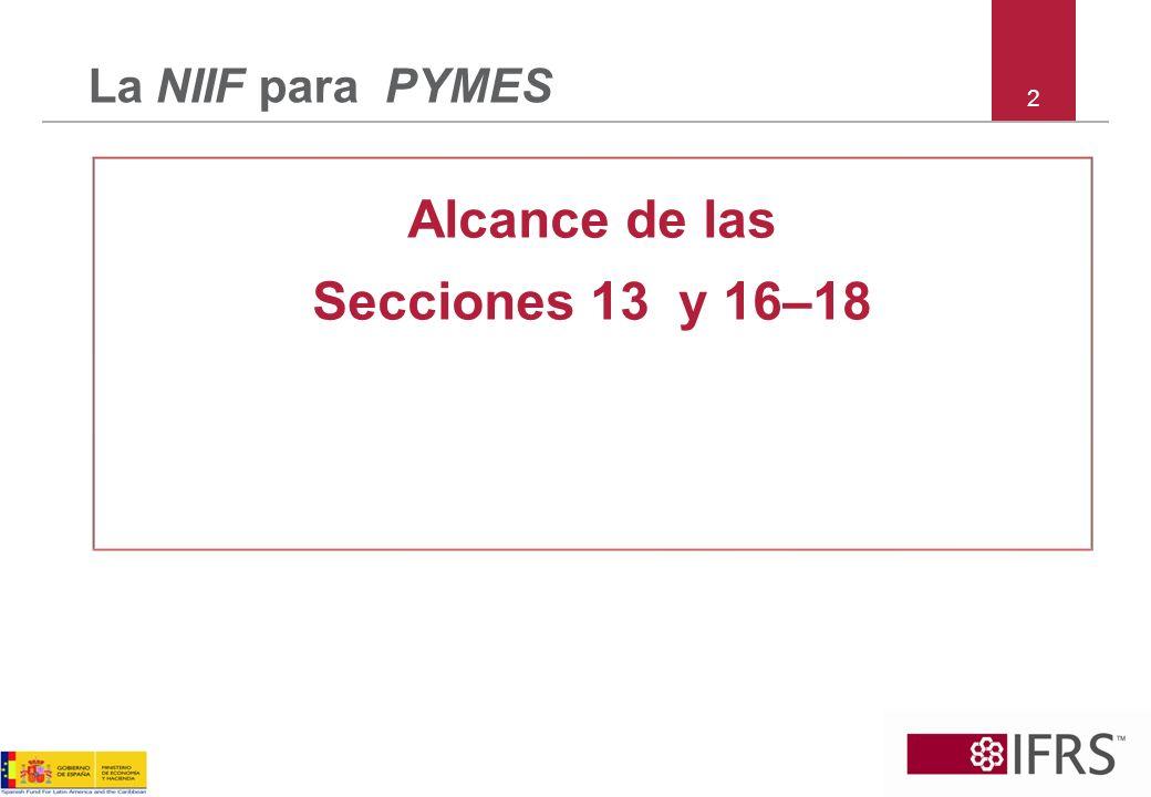 73 La NIIF para PYMES Sección 27 Deterioro de Activos