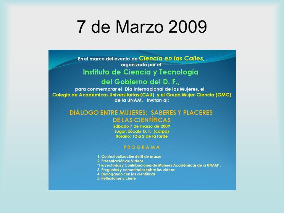 7 de Marzo 2009