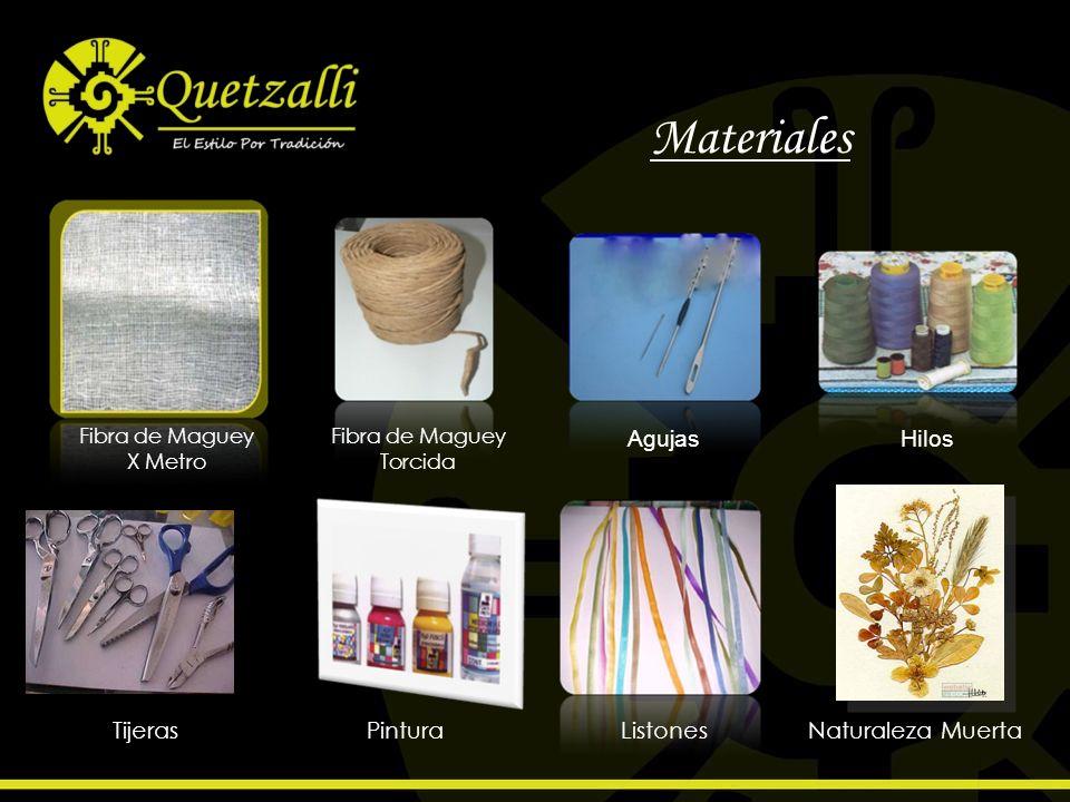 Materiales Fibra de Maguey X Metro Fibra de Maguey Torcida AgujasHilos TijerasPinturaListonesNaturaleza Muerta