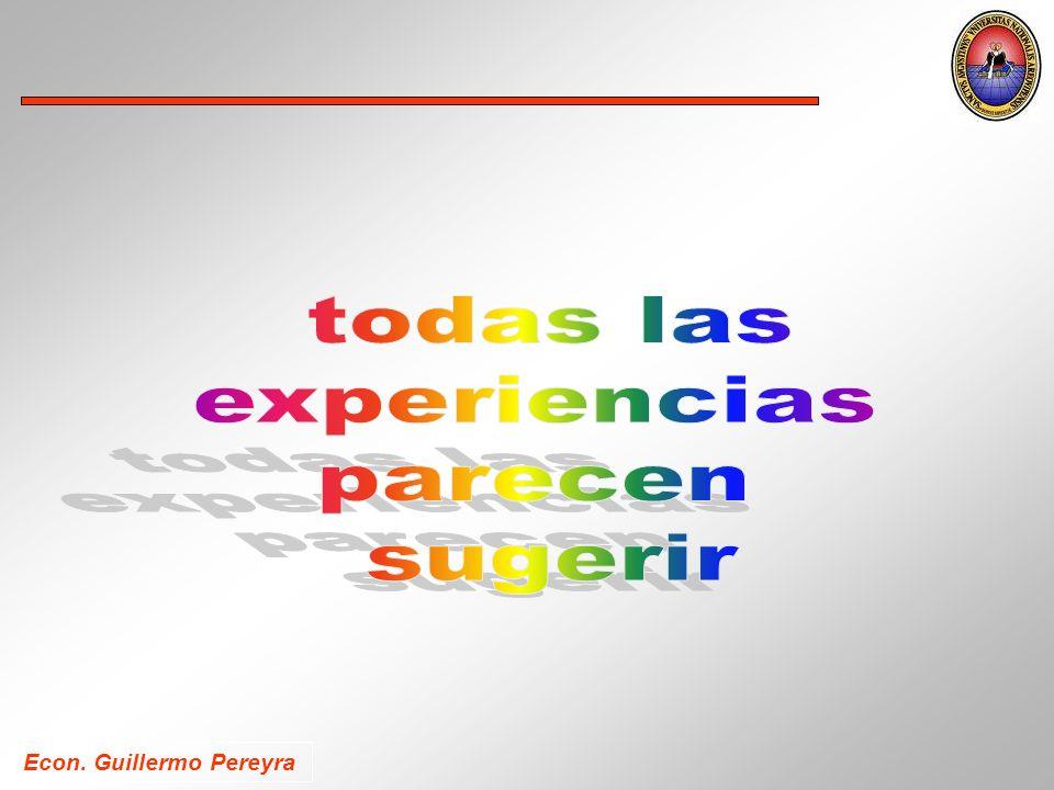 Econ. Guillermo Pereyra