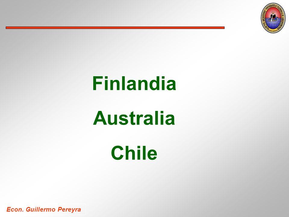 Finlandia Australia Chile