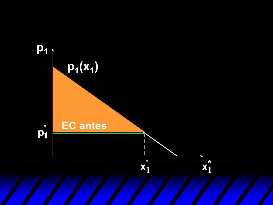p1p1 EC antes p 1 (x 1 )