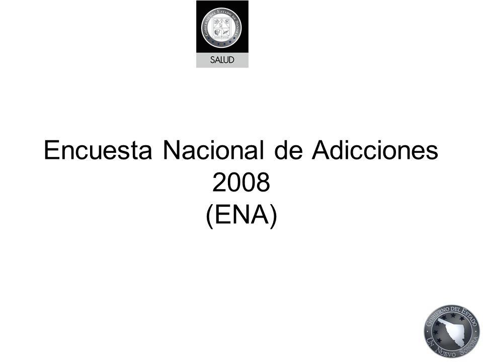 Encuesta Nacional de Adicciones 2008 (ENA)