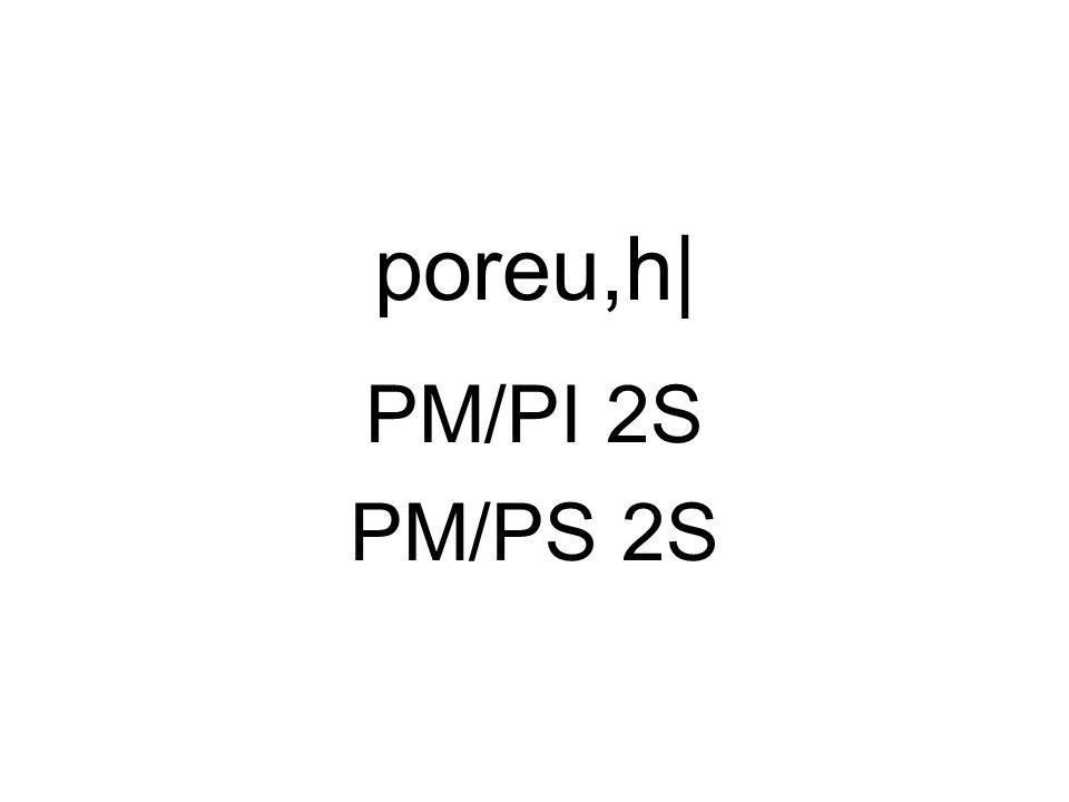 PM/PI 2S poreu,h| PM/PS 2S