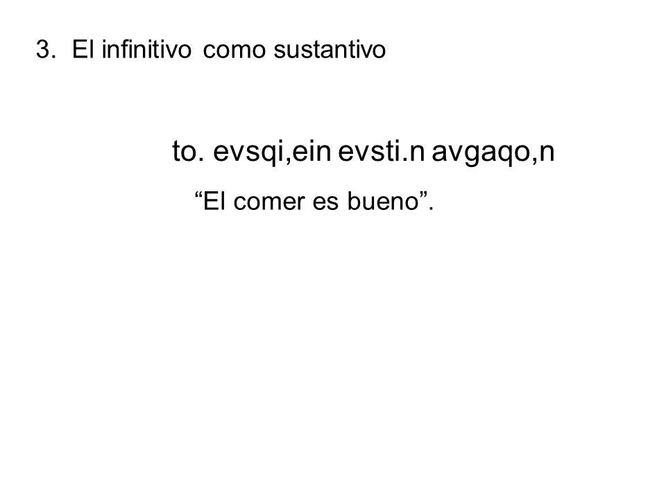 4.El infinitivo articular después de preposiciones 1.
