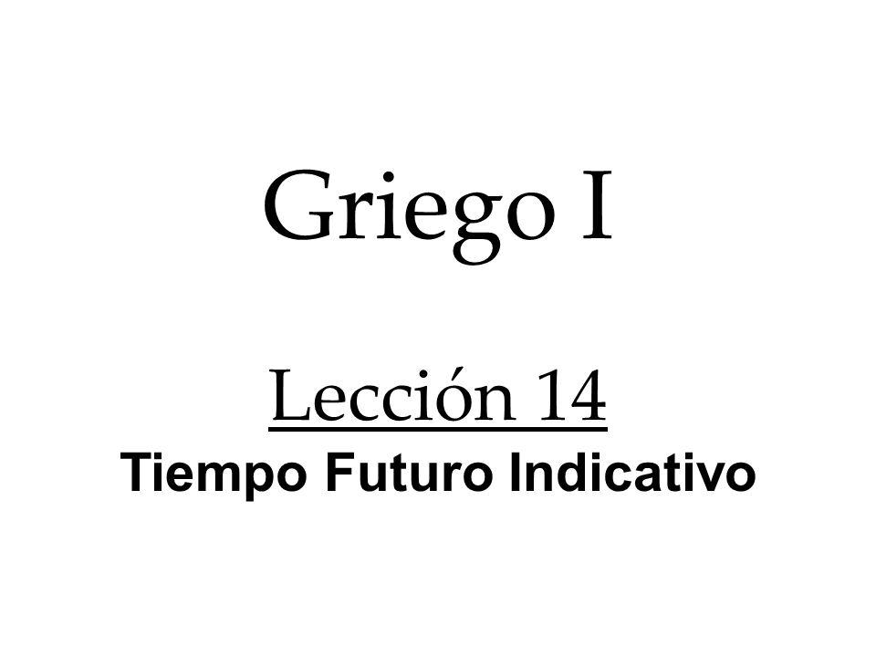 lu raíz La formación de lu,w en Futuro Activo Indicativo. señal temporal s w desinencia ++
