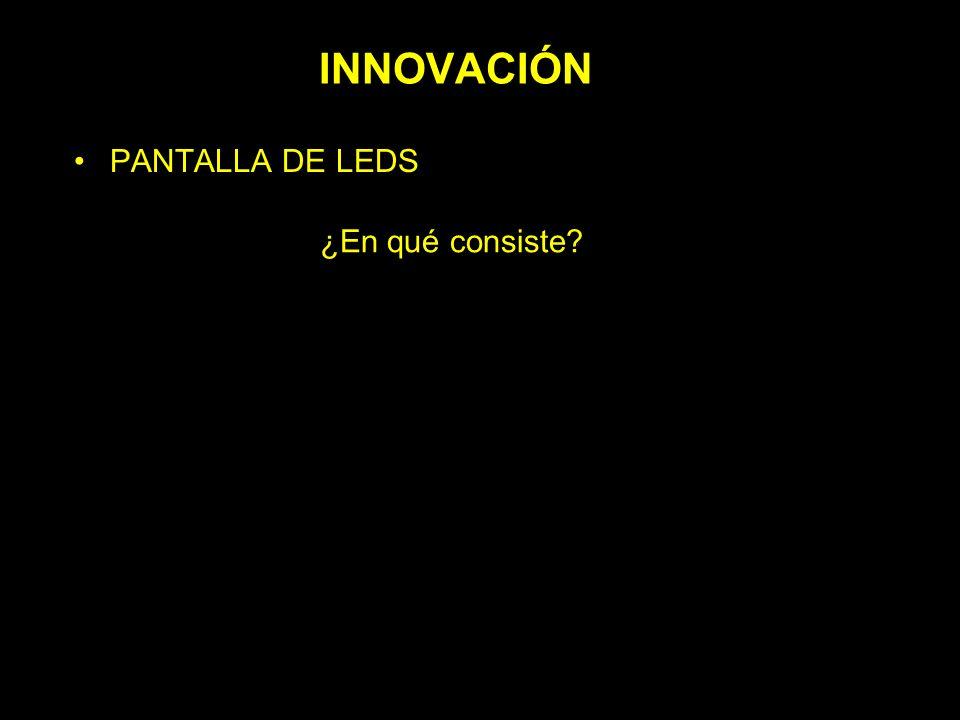 INNOVACIÓN PANTALLA DE LEDS – ¿En qué consiste