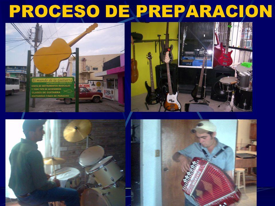 PROCESO DE PREPARACION