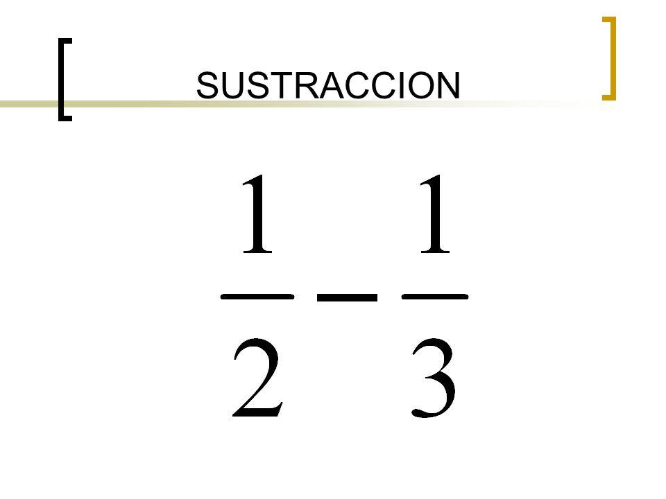 SUSTRACCION
