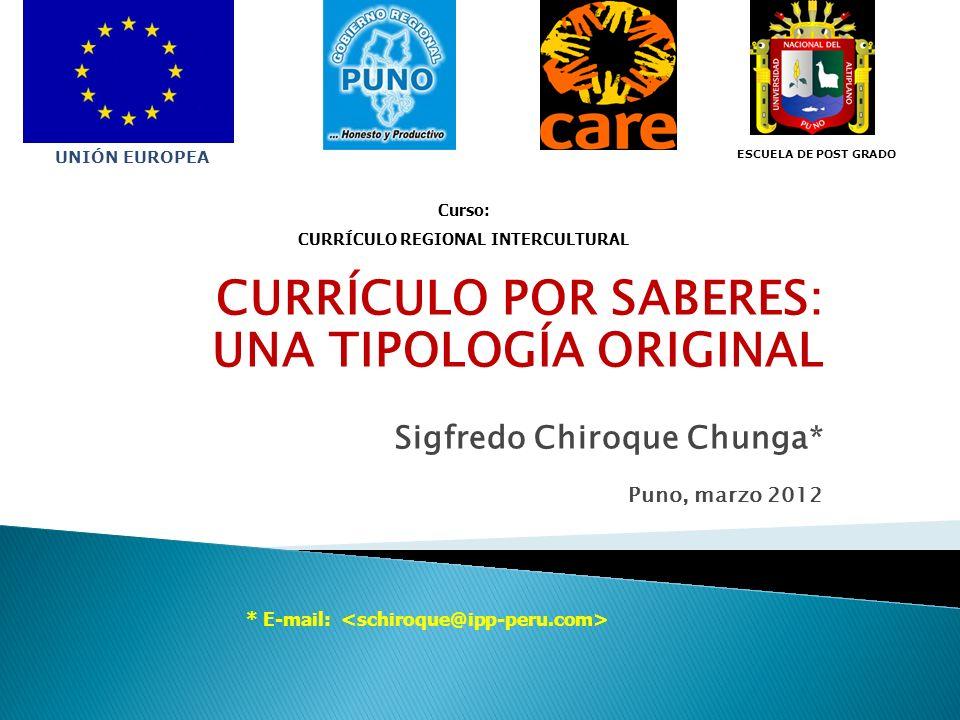 1.Del Saber, a la educación formalizada. Surgimiento del Currículo.