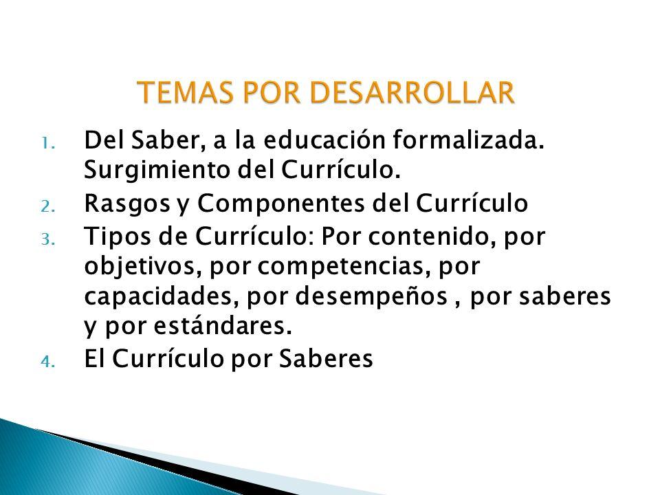 a) Se da en un marco de menor desarrollo en la organización educacional.