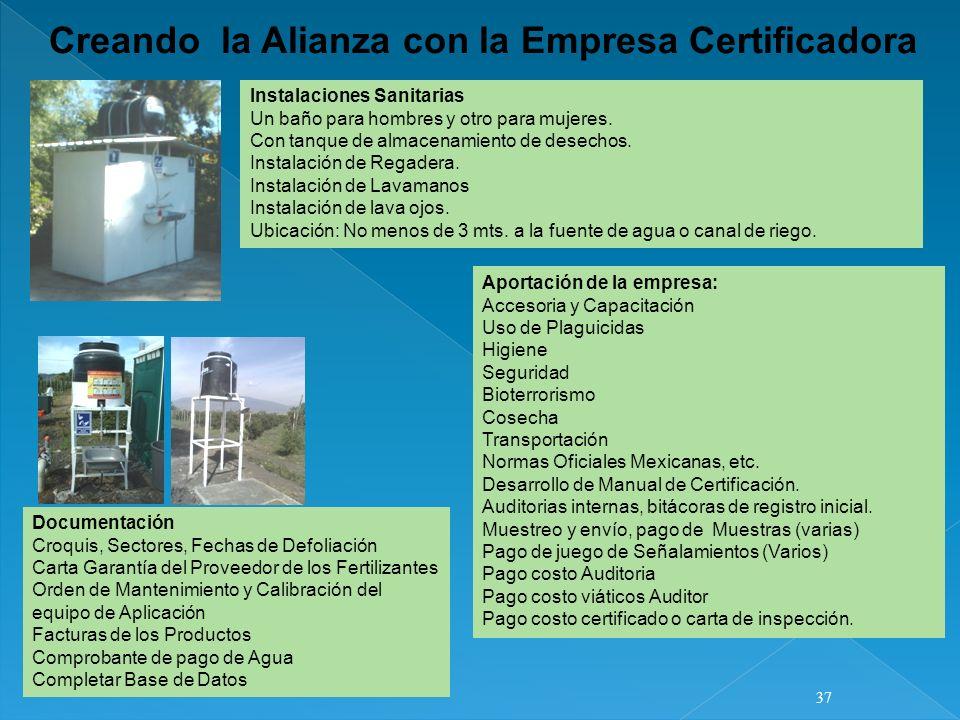 Documentación Croquis, Sectores, Fechas de Defoliación Carta Garantía del Proveedor de los Fertilizantes Orden de Mantenimiento y Calibración del equi