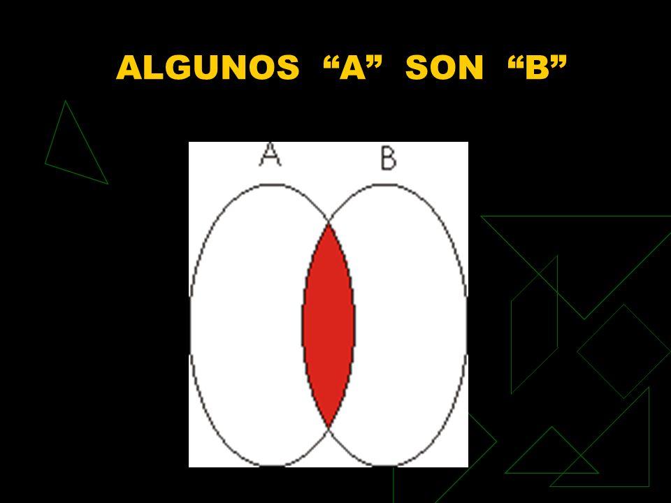 ALGUNOS A SON B