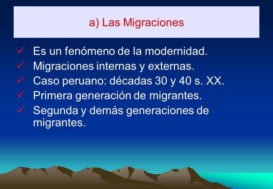 3. TRANSFORMACIÓN Y/OPÉRDIDA DE LA IDENTIDAD CULTURAL a) Las migraciones. b) El sistema educativo oficial. c) Los medios de comunicación. d) La tenden