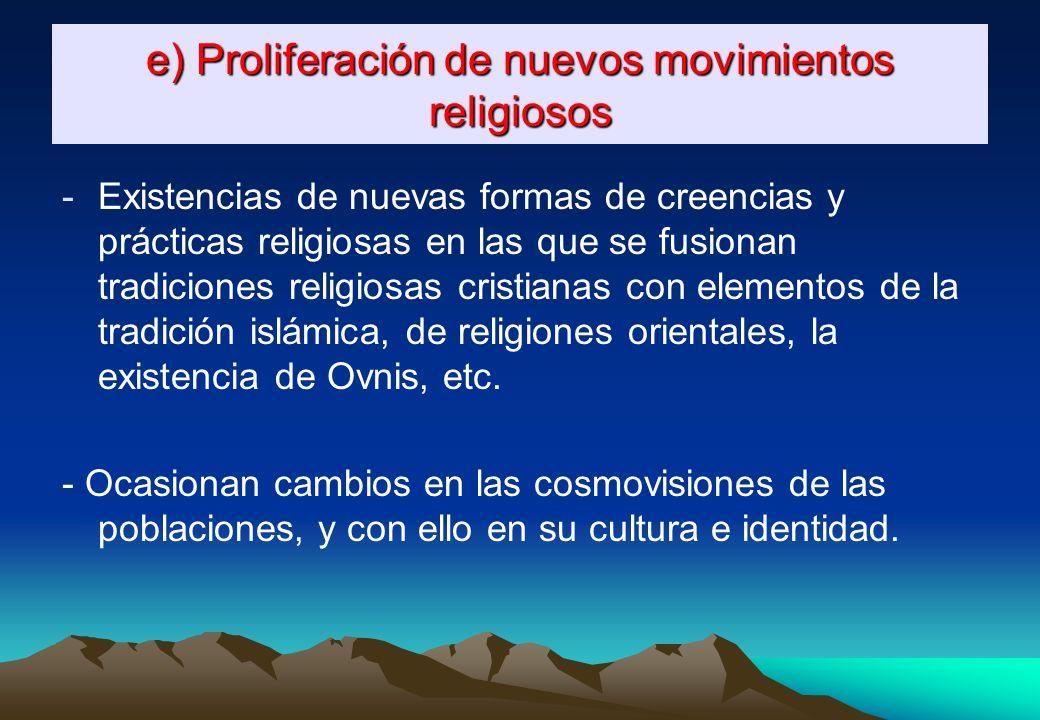 La civilización occidental Se presenta como el modelo, el paradigma que las demás civilizaciones deben seguir si quieren llegar a ser modernas y desar