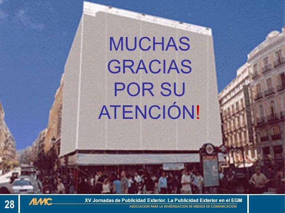 28 XV Jornadas de Publicidad Exterior.