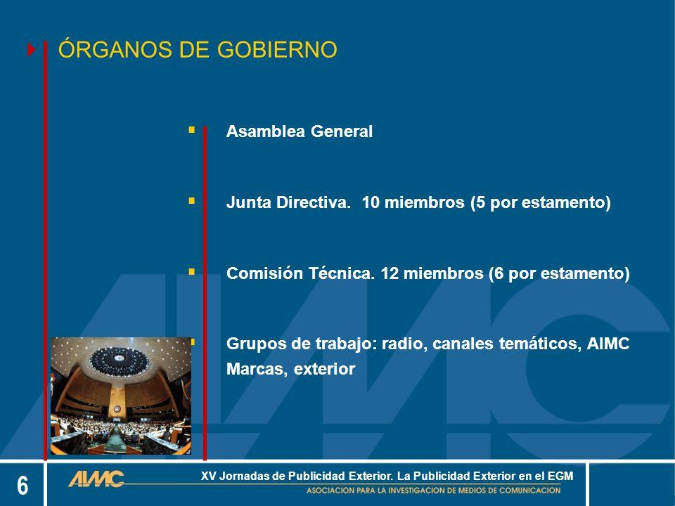 6 XV Jornadas de Publicidad Exterior.