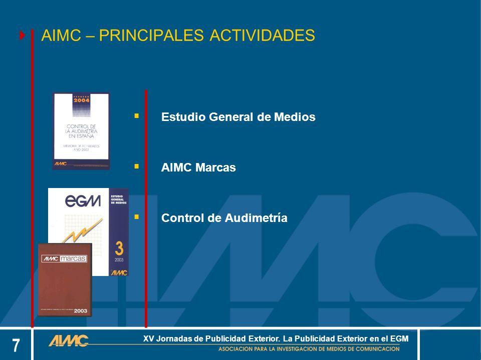 18 XV Jornadas de Publicidad Exterior.