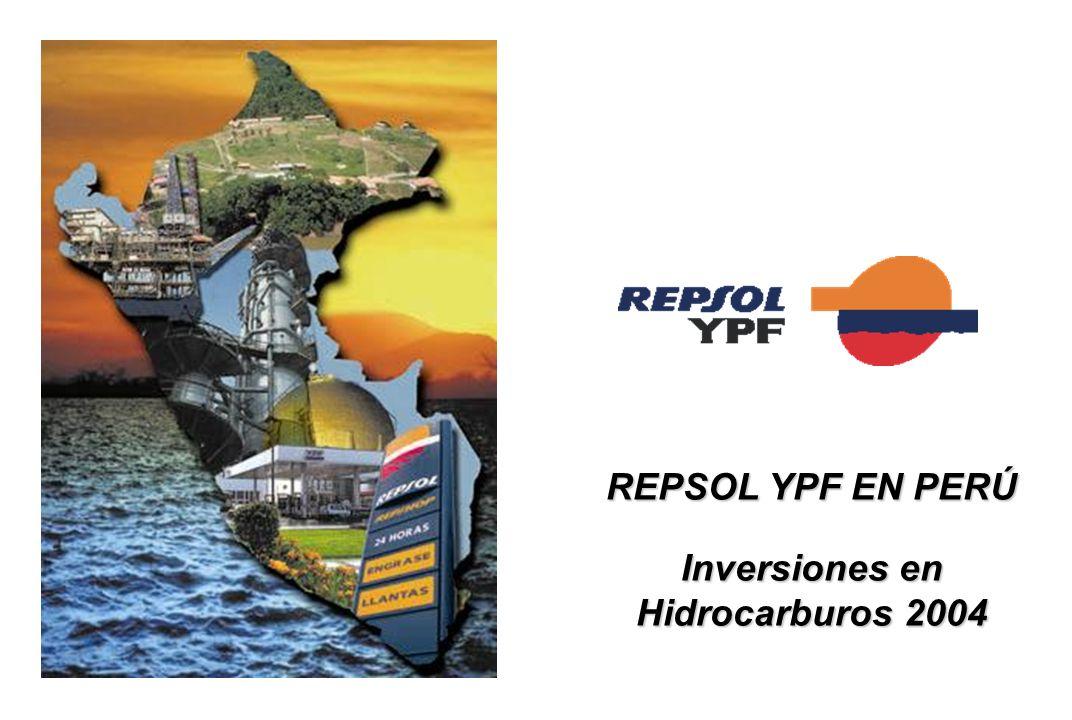 REPSOL YPF EN PERÚ Inversiones en Hidrocarburos 2004