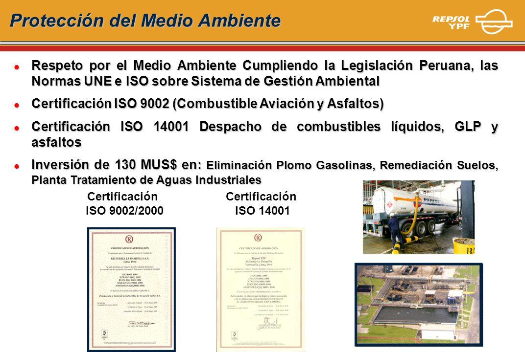 Protección del Medio Ambiente l Respeto por el Medio Ambiente Cumpliendo la Legislación Peruana, las Normas UNE e ISO sobre Sistema de Gestión Ambient