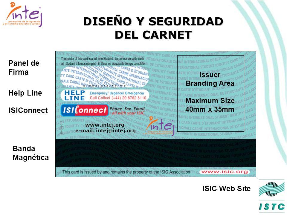 DISEÑO Y SEGURIDAD DEL CARNET International University MAVRIDOU, K. 13/10/1984 09/2001 - 12/2002 Plastic CardFoto PDL Logo UnescoNúmeros de serie únic