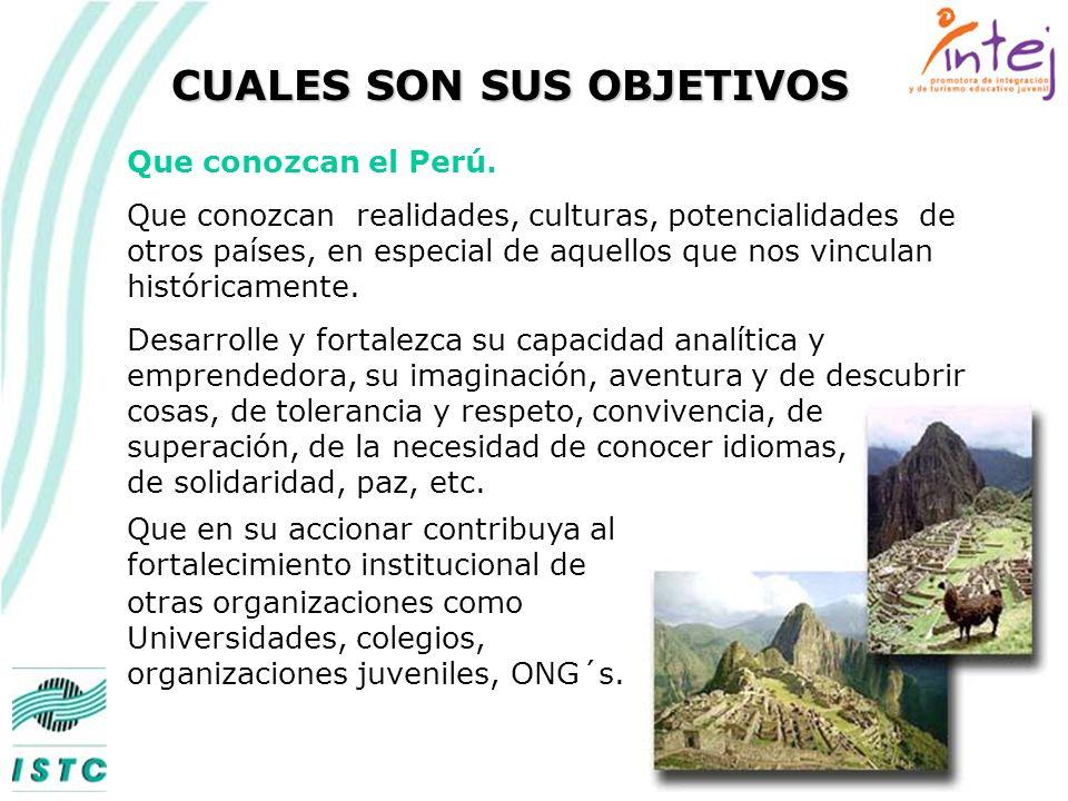 QUE ES INTEJ Asociación Privada sin fines de lucro creada en 1983 teniendo como objeto de su interés central los estudiantes y jóvenes en general y un país: el Perú pero dentro de una comunidad de países.