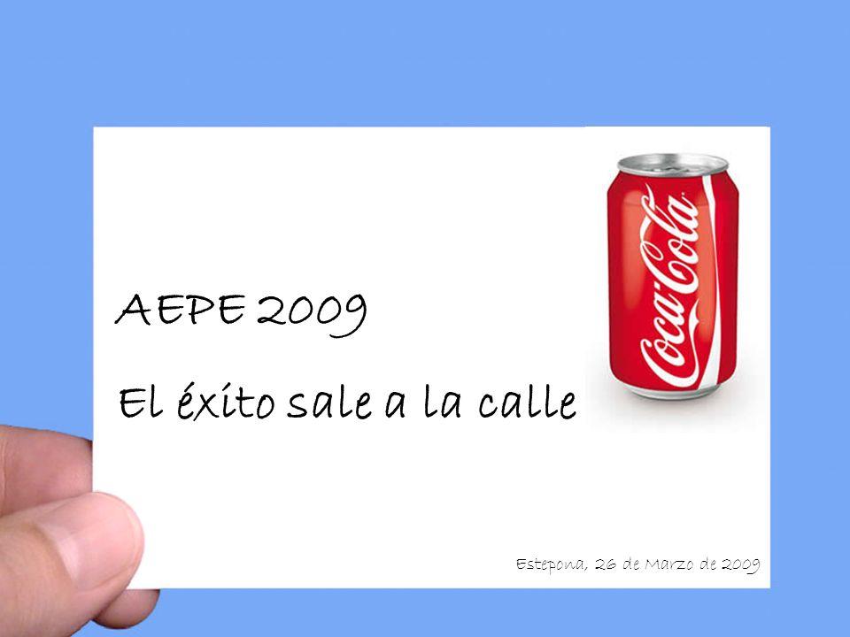 AEPE 2009 El éxito sale a la calle Estepona, 26 de Marzo de 2009