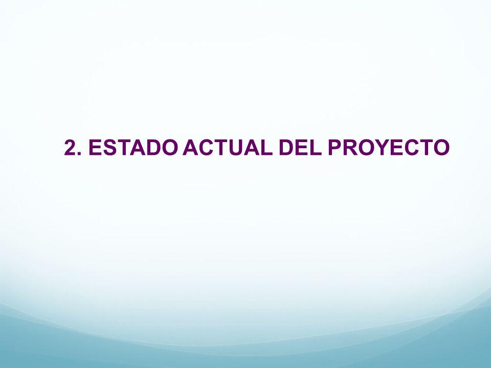 2. ESTADO ACTUAL DEL PROYECTO