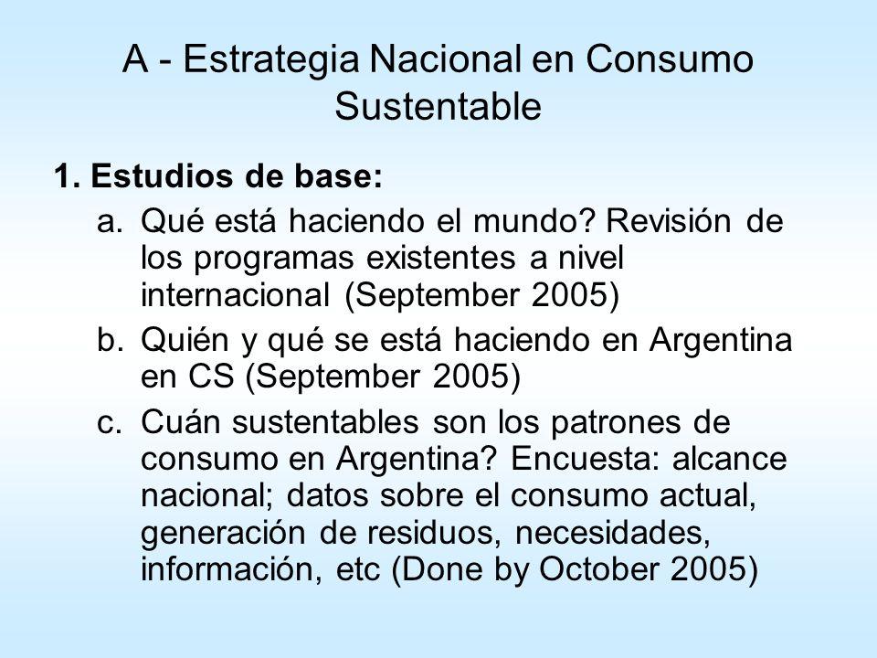 A - Estrategia Nacional en Consumo Sustentable 2.