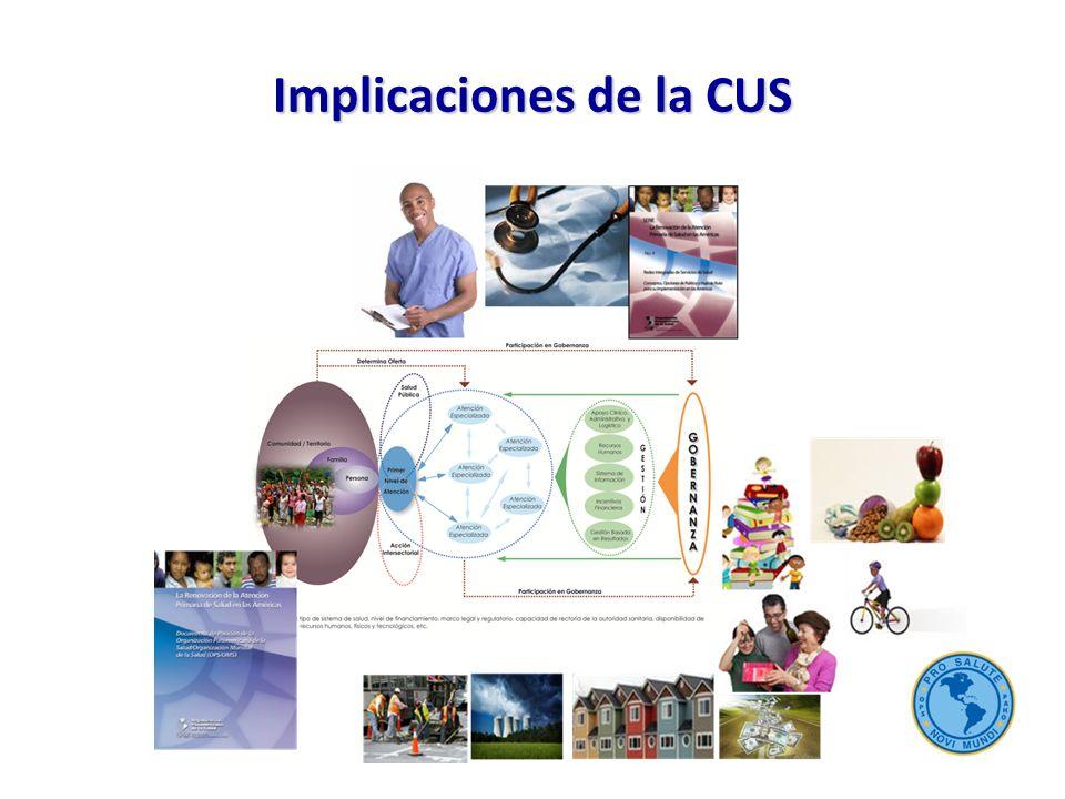 Implicaciones de la CUS