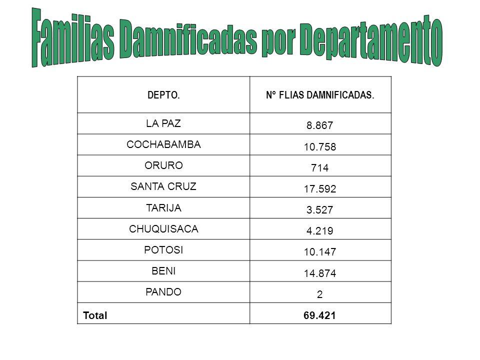 Oruro EDAs 4025 (6%) IRAs 9767 (7%) La Paz EDAs 9131 (14%) IRAs 22741 (17%) Cochabamba EDAs 8897 (14%) IRAs 18561 (14%) Santa Cruz EDAs 21905 (28%) IRAs 45289 (32%) Tarija EDAs 4866 (8%) IRAs 8990 (7%) Chuquisaca EDAs 7585 (12%) IRAs 11115 (8%) Beni EDAs 3239 (4%) IRAs 7157 (5%) Potosi EDAs 7349 (12%) IRAs 13387 (10%) Boletín Epidemiológico Al 21 de Febrero 2007