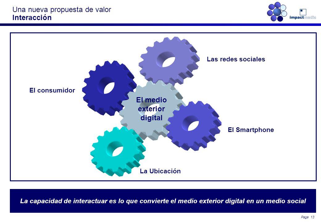 Page 12 … o por el propio consumidor Una nueva propuesta de valor Atracción (Engagement): un medio de comunicación