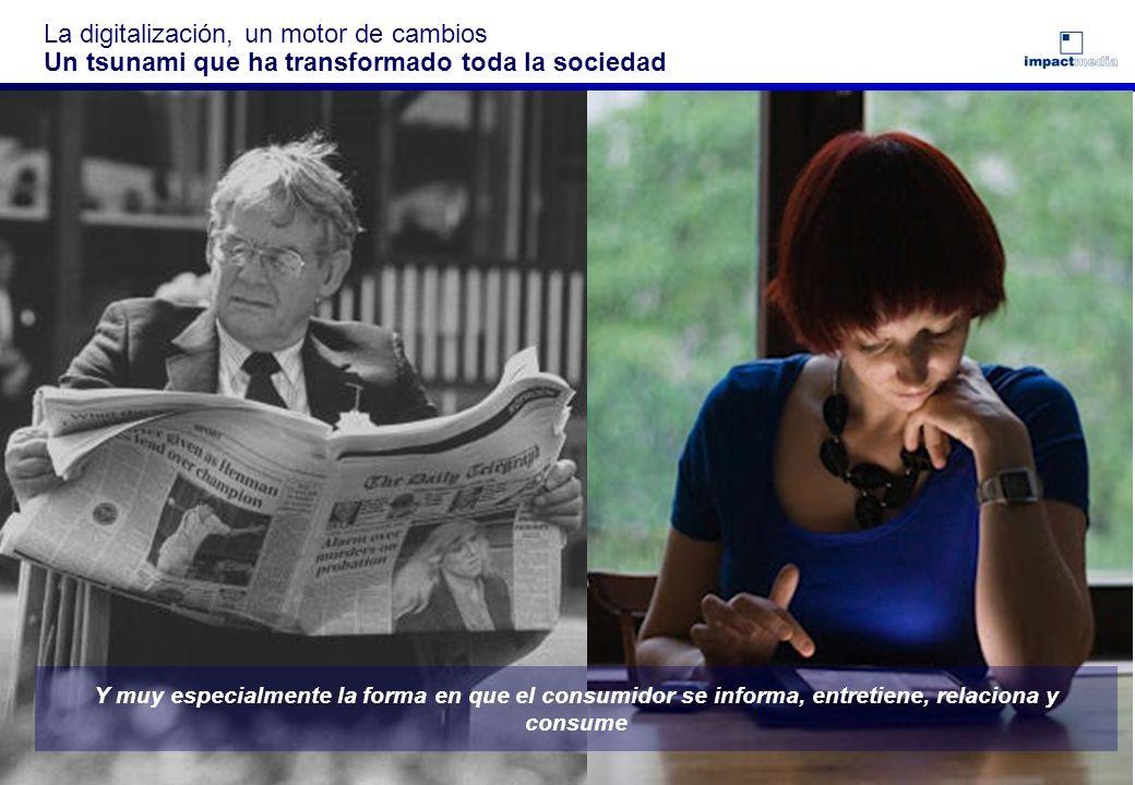Page 1 La digitalización, un motor de cambios Un tsunami La Digitalización