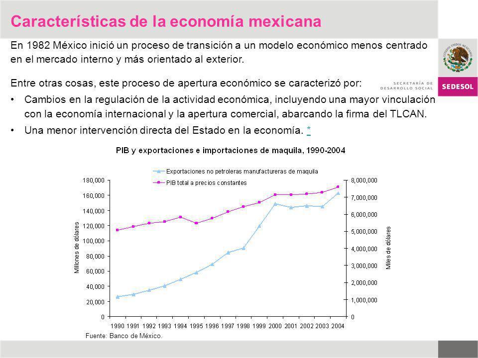 Entre otras cosas, este proceso de apertura económico se caracterizó por: Cambios en la regulación de la actividad económica, incluyendo una mayor vin