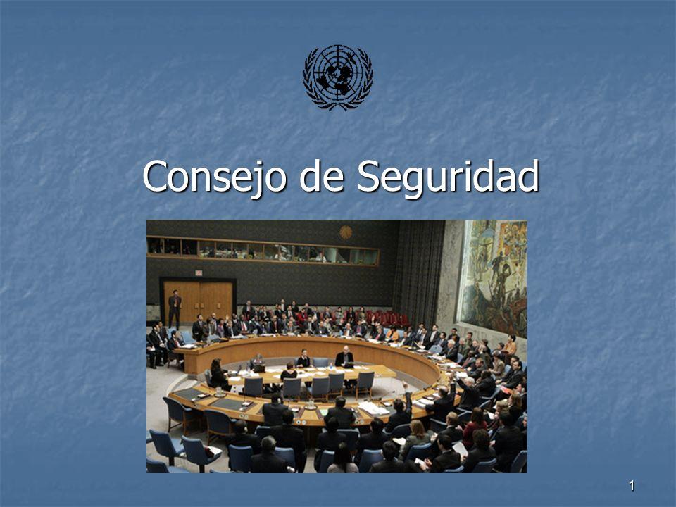 1 Consejo de Seguridad