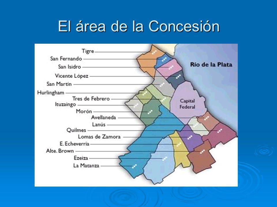 El área de la Concesión