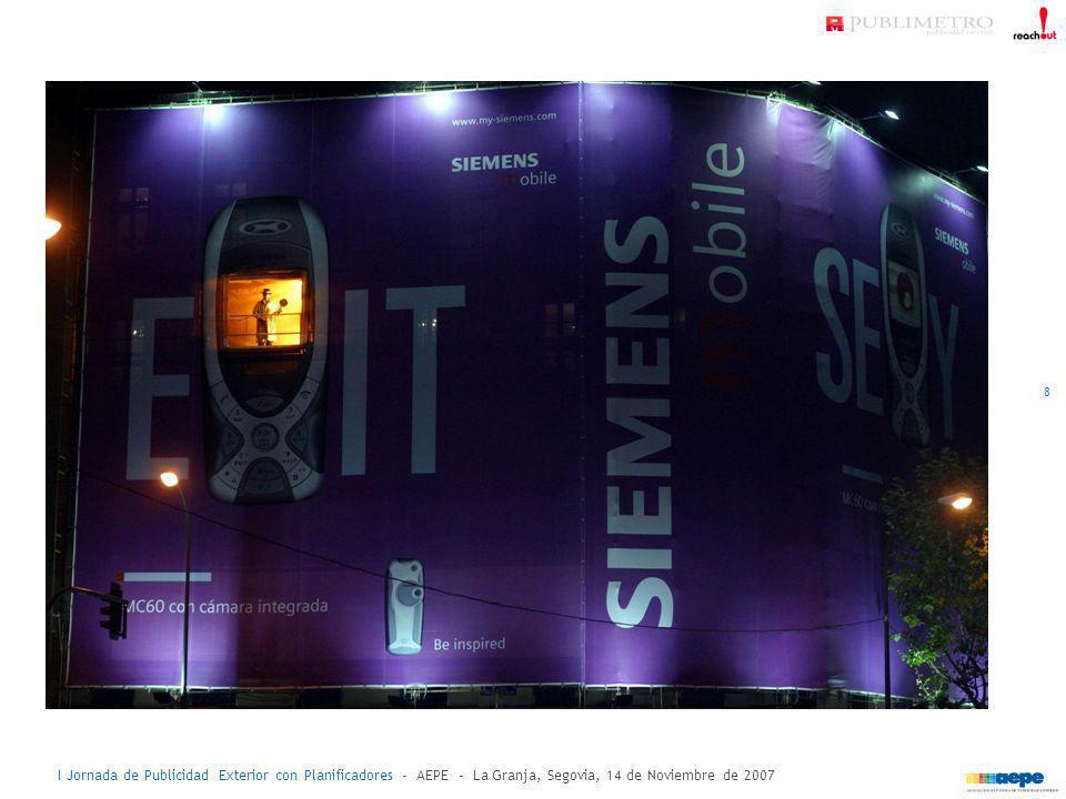 I Jornada de Publicidad Exterior con Planificadores - AEPE - La Granja, Segovia, 14 de Noviembre de 2007 acciones especiales en exterior: caso práctico - Eurobasket 19