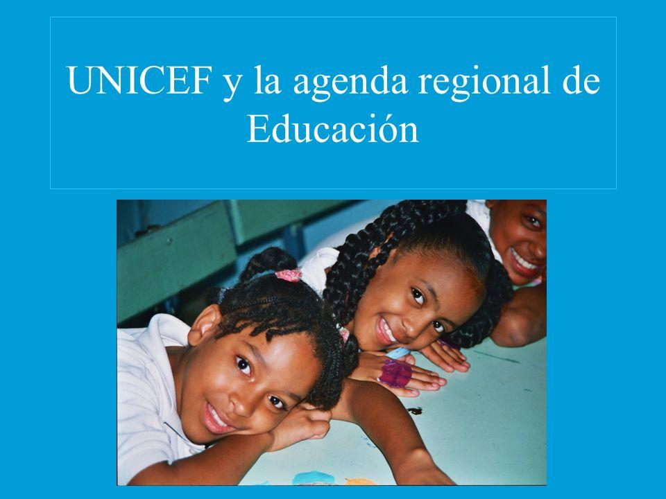 UNICEF y la agenda regional de Educación