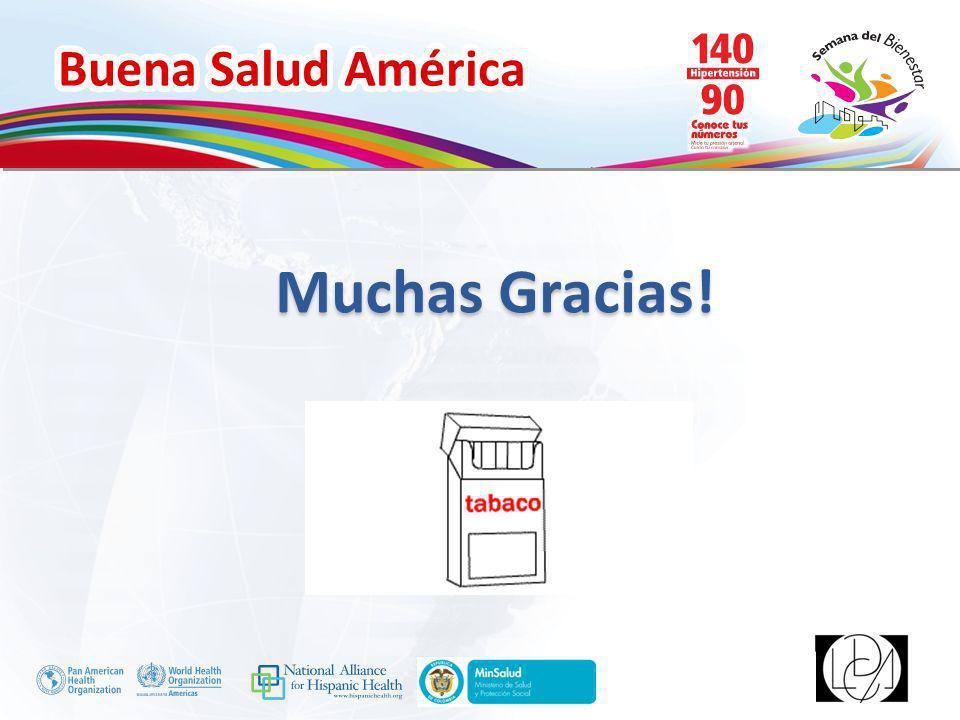 Buena Salud América Inserte su logo Muchas Gracias!