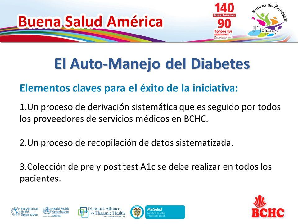 Buena Salud América Obstáculos enfrentados y soluciones planteadas: Las referencias por los médicos a los cursos básicos de diabetes no se han realizado sistemáticamente por BCHC.