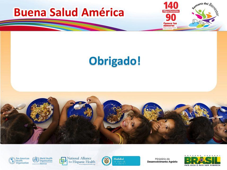 Buena Salud América Inserte su logo Obrigado!