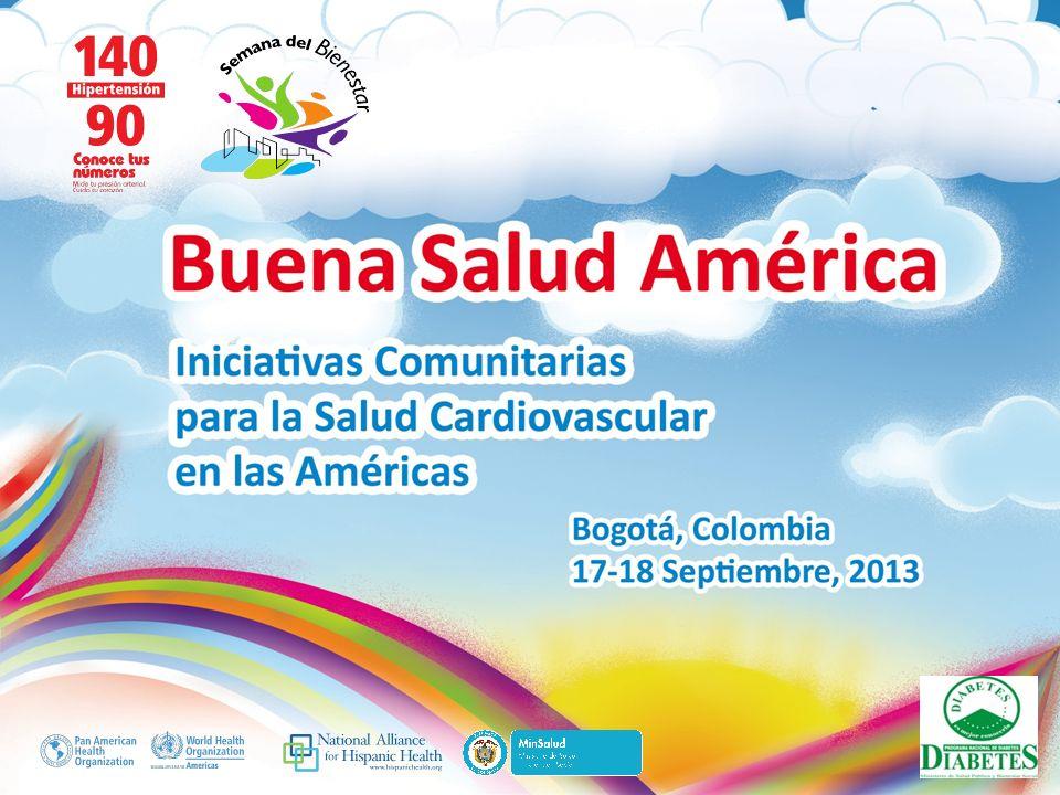 Buena Salud América Comunidades Promotoras de Calidad de Vida y Salud Karina Netto Fiore Educadora Programa Nacional de Diabetes karinetto76@hotmail.com